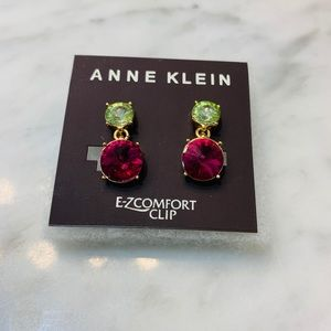 Earrings clips chic (new)